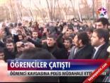 ataturk universitesi - Öğrenciler birbirine girdi Videosu