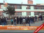 ataturk universitesi - Üniversitede tehlikeli gerilim Videosu