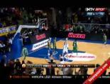 Son Saniyede Atılan Basket Spikeri Çılgına Çevirdi