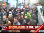 Taksim'de Hocalı Katliamı protestosu! online video izle