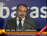 Van İçin Türkiye Kumbarası