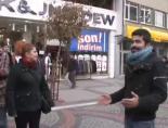 Edirne'de cadde ortasında ilginç evlilik teklifi