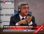 yukari karabag - Sarkisyan'dan Yukarı Karabağ çıkışı