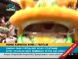 hong kong - Hong Kong'da renkli festival