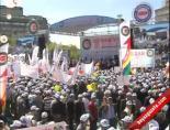 ataturk kultur merkezi - İşçi Bayramı Kutlamaları İçin Hak-iş Ve Memur-sen Üyeleri Toplandı