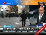 Trabzon Taraftarından Sadri Şenere Taşlı Yumurtalı Saldırı