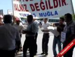 Milas-Bodrum Havalimanı'nda Eylemi