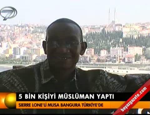 musa banbura - 5 bin kişiyi müslüman yaptı
