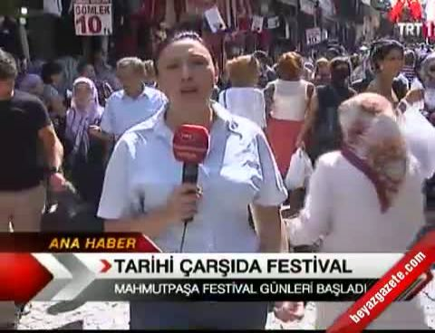 mahmutpasa carsisi - Tarihi Çarşıda Festival
