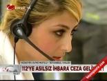 112 acil servis - 112'yi gereksiz arayan yandı! Videosu