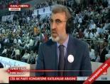 ali sahin - Taner Yıldız AK Parti Kongresi'ni Yorumladı