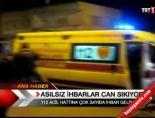 112 acil servis - Asılsız ihbarlar can sıkıyor  Videosu