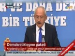 kenan evren - Kemal Kılıçdaroğlundan Demokratikleşme Paketi Açıklaması