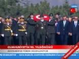 Anıtkabir'de Tören Düzenlendi (Cumhuriyet'in 90. Yıldönümü )