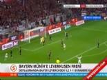 bundesliga - Bayer Leverkusen Bayern Münih: 1-1 Maç Özeti