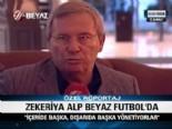 merkez hakem kurulu - MHK Başkanı Zekeriya Alp: İçerde Başka, Dışarıda Başka Yönetiyorlar