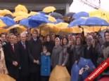 mustafa demir - AK Partili Kadınlar Şiddete Karşı Şemsiye Açtı
