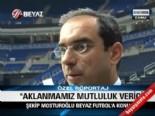 Şekip Mosturoğlu Beyaz Futbol'a Konuştu