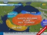 İl İl Hava Durumu - 14 Aralık 2013 (Ankara-İstanbul-Bartın-Gaziantep)