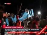 Kayseri'de Feci Trafik Kazası: 11 Ölü (Öğrenci Minibüsü Kaza Yaptı)