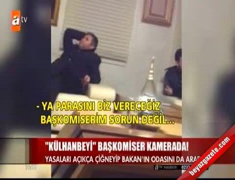 abdullah oguz - Başkomiser Recep Can, Bakan Bayraktarın Oğullarının Ofisini Bastı