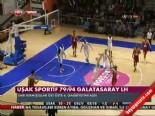 Uşak Sportif - Galatasaray Liv Hospital: 79-94 Basketbol Maç Özeti