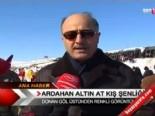 cildir golu - Ardahan Altın At Kış Şenliği  Videosu