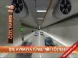 avrasya tuneli - İşte Avrasya Tüneli'nin köstebeği
