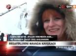 ataturk universitesi - Misafirlerini havada karşıladı  Videosu