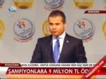 avrupa sampiyonu - Şampiyonlara 9 milyon TL ödül