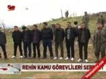 kamu gorevlileri - Rehin kamu görevlileri serbest