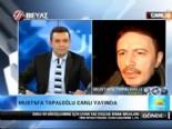 mustafa topaloglu - Mustafa Topaloğlu canlı yayında Nihat Doğan'a saydırdı