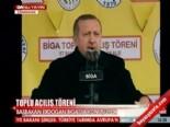 Başbakan Erdoğan Biga'da konuştu