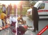 112 acil servis - Manisa'da Ayrı Yaşadığı Eşini 11 Yerinden Bıçakladı  Videosu