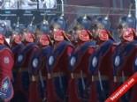 Başbakan Erdoğan'ı Moğolistan'da Cengiz Han'ın Atlı Birlikleri Kaşıladı