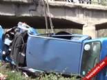 balaban - Kırıkkale'de Otomobil Nehre Düştü