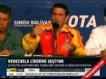 venezuela - Venezuela liderini seçiyor
