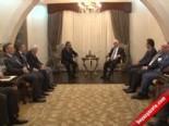 KKTC Cumhurbaşkanı Derviş Eroğlu, Azerbeycan Basın Heyetini Kabul Etti