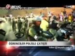 venezuela - Öğrenciler polisle çatıştı