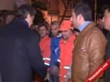 mustafa demir - Fatih Belediye Başkanı Mustafa Demir İşçilere Simit Dağıttı
