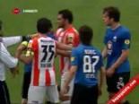 adanaspor - Adanaspor Kayseri Erciyesspor Maçının Devre Arasında Kavga Çıktı