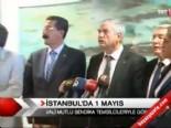 İstanbul'da 1 Mayıs hazırlığı  online video izle