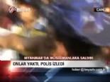 myanmar - Onlar yaktı, polis izledi