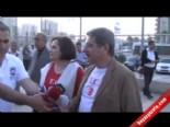 CHP Milletvekili Aytun Çıray'dan Pınar Karşıyaka Maçında T.C. Protestosu