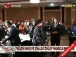 nelson mandela - Mandela'ya barış ve diyalog ödülü