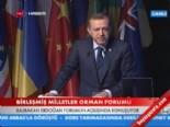 Başbakan Tayyip Erdoğan, BM Orman Forumu'nda konuştu