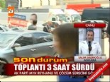 ak parti myk - AK Parti'de gündem Reyhanlı  Videosu