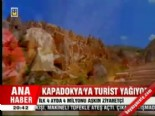 kapadokya - Kapadokya'ya turist yağıyor