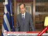 Yunanistan Başbakanı Samaras'tan Küfür Skandalı