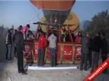 kapadokya - Kapadokya'da Balonlar Rabia Pankartlarıyla Uçtu